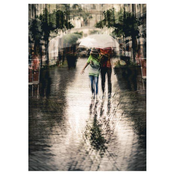 Fine Art Fotografie Under The Umbrella wit